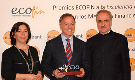Nazca, 'Best Private Equity Fund 2015' at the ECOFIN Awards